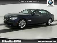 2015 BMW 740Li xDrive Sedan 740Li xDrive * BMW CPO Warranty * One Owner * M Sp Sedan All-wheel Drive