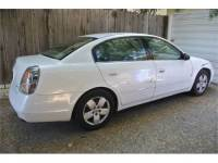 2002 Nissan Altima White