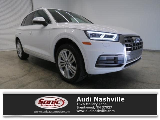Photo Certified Used 2018 Audi Q5 Premium Plus 2.0 Tfsi SUV quattro near Nashville, TN