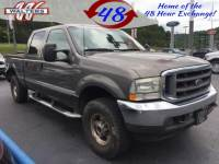 Pre-Owned 2002 Ford Super Duty F-250 4x4 CrewCab Lariat Diesel 4WD