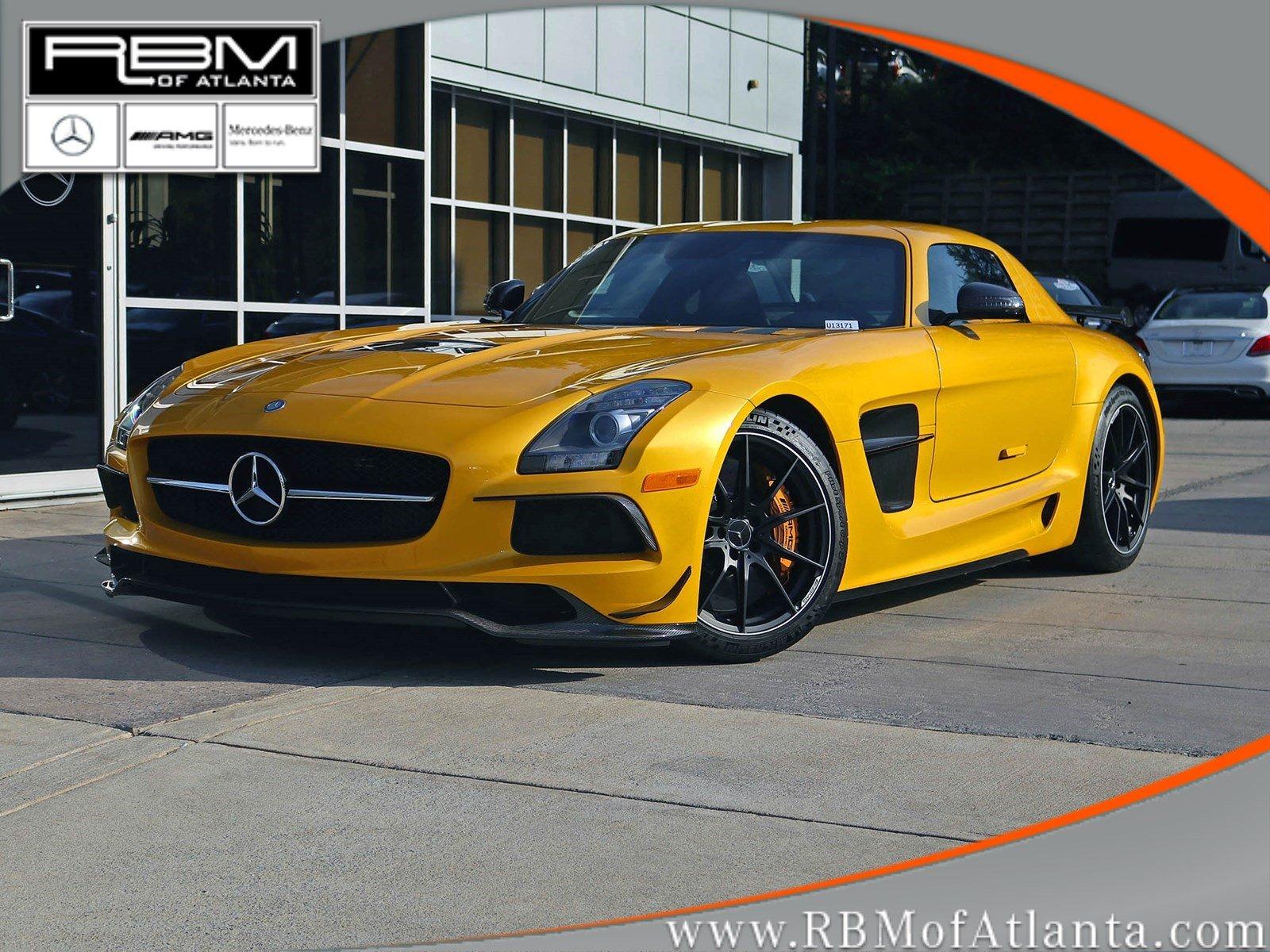 Photo Pre-Owned 2014 Mercedes-Benz SLS AMG Black Series