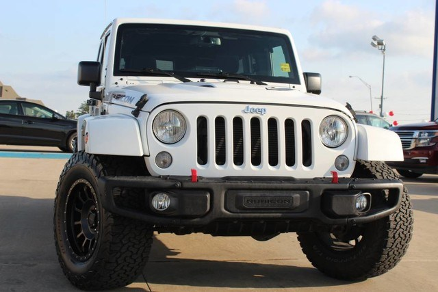 Photo Used 2015 Jeep Wrangler Unlimited Rubicon Hard Rock in Ardmore, OK