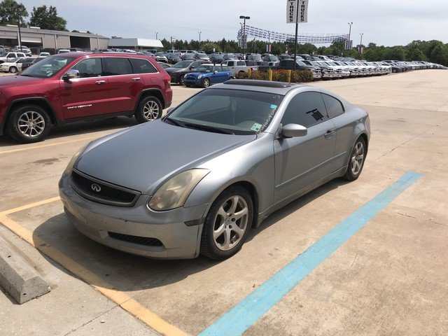 Photo Used 2004 INFINITI G35 COUPE wLeather Coupe