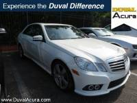 Used 2010 Mercedes-Benz E-Class For Sale | Jacksonville FL