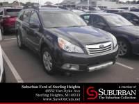 2012 Subaru Outback 3.6R SUV Boxer H6 DOHC 24V