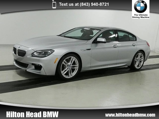 Photo 2015 BMW 6 Series 640i  BMW CPO Warranty  One Owner  M Sport  Na Gran Coupe Rear-wheel Drive