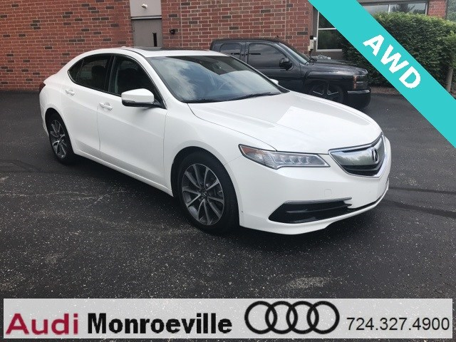Photo Pre-Owned 2015 Acura TLX For Sale near Pittsburgh, PA  Near Greensburg, McKeesport,  Monroeville, PA  VIN19UUB3F58FA001854