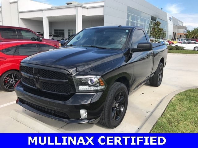 Photo Used 2014 Ram 1500 Express W 20 Black Wheels, Back UP Camera, Blueto Truck Regular Cab V-8 cyl in Kissimmee, FL
