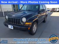 Pre-Owned 2007 Jeep Liberty Sport 4WD 4D Sport Utility