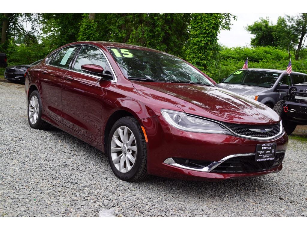 Photo Certified Used 2015 Chrysler 200 C Sedan For Sale in Little Falls NJ