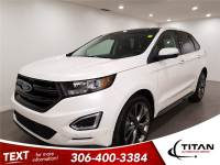 2017 Ford Edge Sport AWD Cam Leather Sunroof self parking