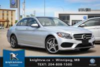 Pre-Owned 2015 Mercedes-Benz C-Class C 300 4MATIC AWD w/ AMG Package/Nav/Backup Camera/Sunroof AWD 4MATIC 4dr Car
