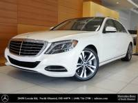 Certified Pre-Owned 2017 Mercedes-Benz S-Class S 550 AWD 4MATIC®