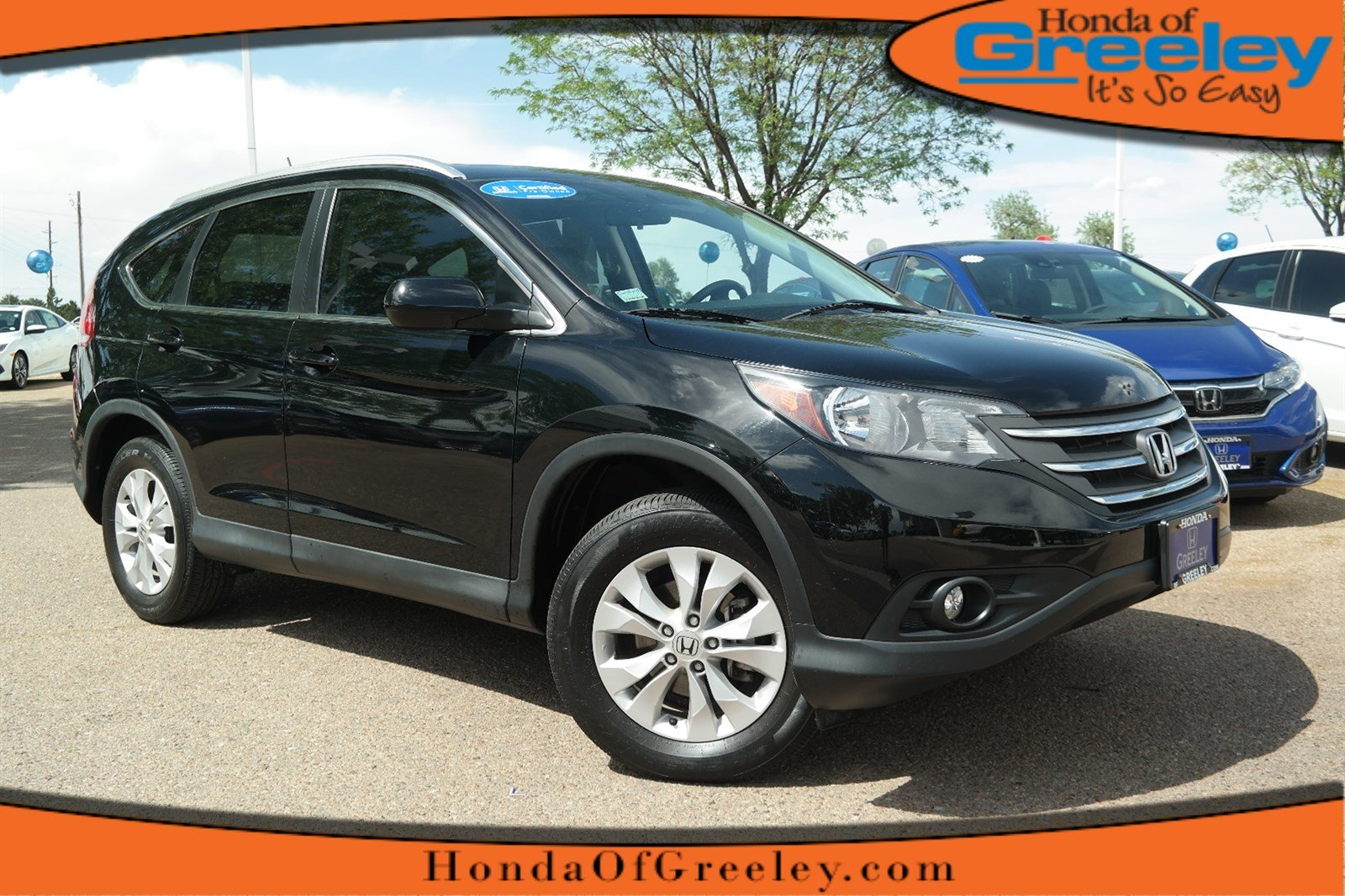 Photo Certified Pre-Owned 2014 Honda CR-V EX-L All Wheel Drive Sport Utility For Sale in Greeley, Loveland, Windsor, Fort Collins, Longmont, Colorado