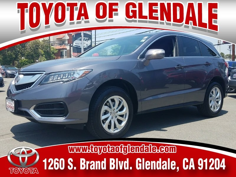 Photo Used 2017 Acura RDX, Glendale, CA, , Toyota of Glendale Serving Los Angeles  5J8TB3H32HL020348