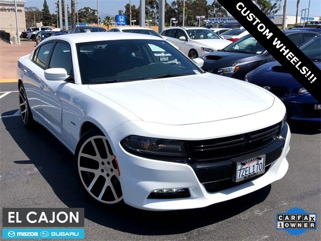 Photo Used 2018 Dodge Charger RT w22 Viper Wheels For Sale San Diego  2C3CDXCT5JH142426