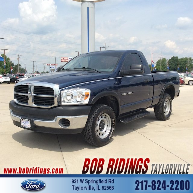 Photo 2007 Dodge Ram 1500 SLTTRX4 Off Road Truck Regular Cab in Taylorville, IL