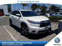 2016 Toyota Highlander XLE SUV Front Wheel Drive