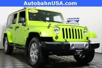 2013 Jeep Wrangler Unlimited Sahara SUV in the Boston Area
