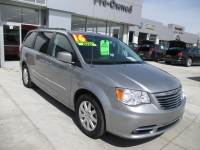 CERTIFIED PRE-OWNED 2016 CHRYSLER TOWN & COUNTRY TOURING FWD 4D PASSENGER VAN