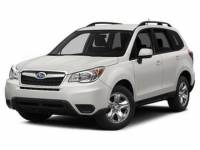 2015 Subaru Forester 2.5i Manual