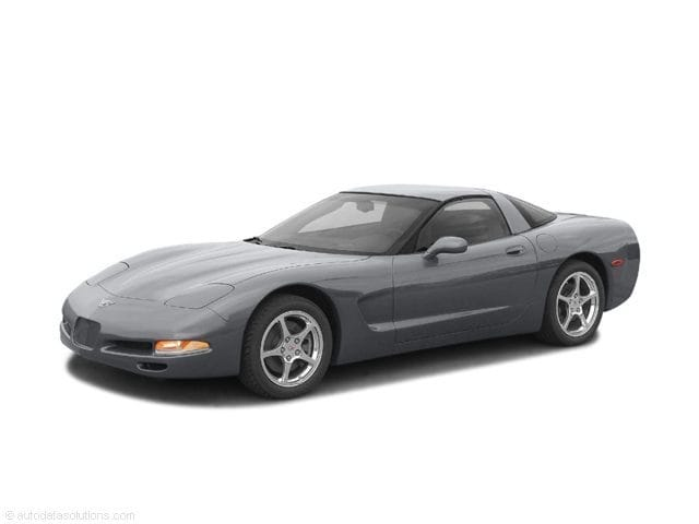 Photo Used 2003 Chevrolet Corvette Base Coupe in Rochester, NY