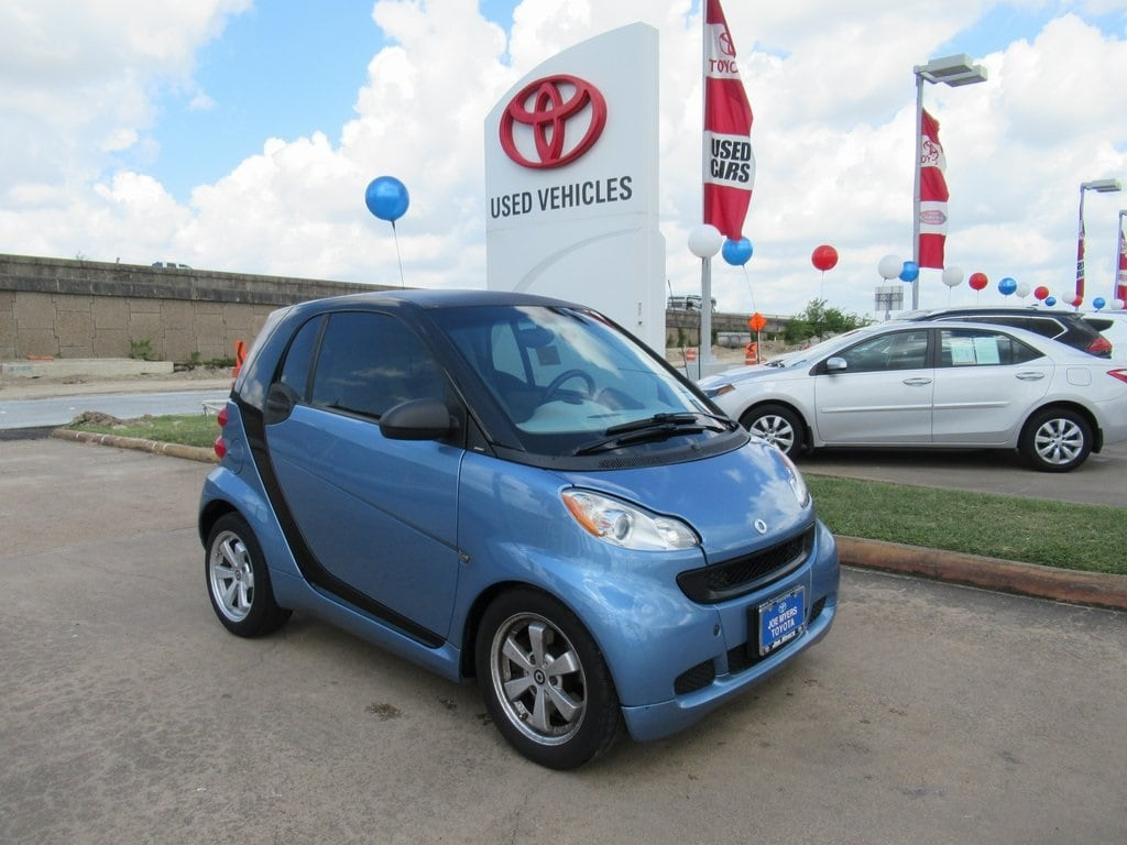 Photo Used 2012 Smart Fortwo Passion Coupe RWD For Sale in Houston