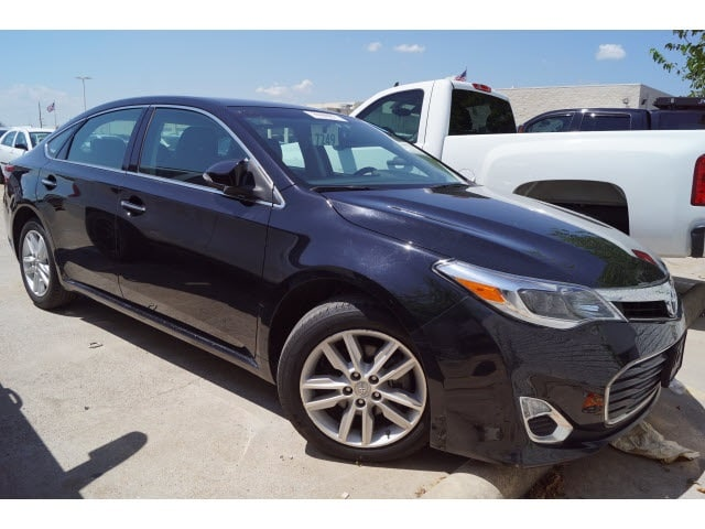 Photo 2015 Toyota Avalon Sedan For Sale in Dallas TX  Toyota Certified Used