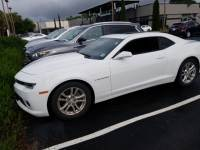 Pre-Owned 2015 Chevrolet Camaro LT Rear Wheel Drive Coupe
