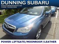 Used 2015 Subaru Forester 2.5i Touring For Sale In Ann Arbor