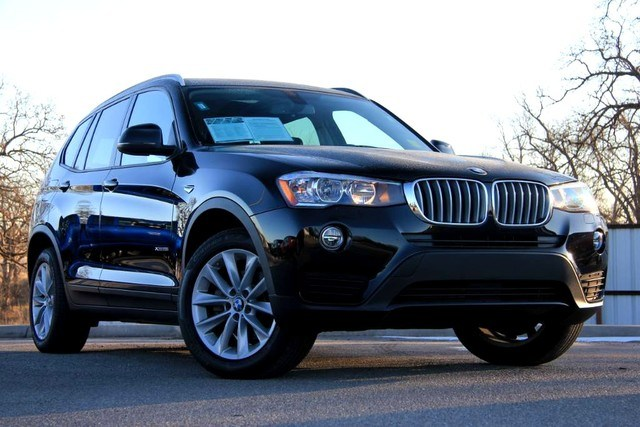 Photo Used 2017 BMW X3 XDRIVE28I LUXURY AT ITS FINEST ONE OWNER in Ardmore, OK