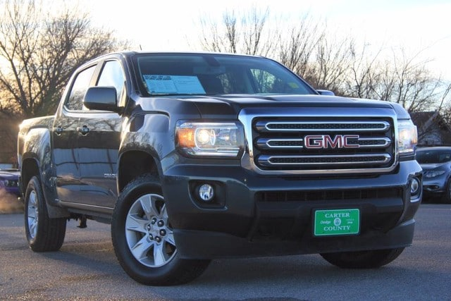 Photo Used 2017 GMC Canyon 4X4 ONE OWNER LOW MILES LUXURY in Ardmore, OK