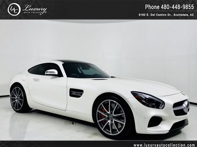 Photo 2017 Mercedes-Benz AMG GT S Glass Roof  Sport Wheels  Red Calipers  Only 3K Miles  16 18 With Navigation
