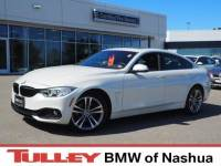 2016 Certified Used BMW 4 Series Gran Coupe xDrive w/SULEV Mineral White For Sale Manchester NH & Nashua   Stock:B18786A