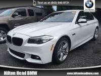 2015 BMW 535d xDrive Sedan 535d xDrive * BMW CPO Warranty * One Owner * M Spo Sedan All-wheel Drive