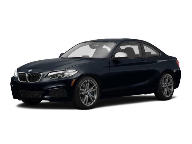 Photo 2015 Certified Used BMW 2 Series Coupe Black Sapphire For Sale Manchester NH  Nashua  StockPL5881A