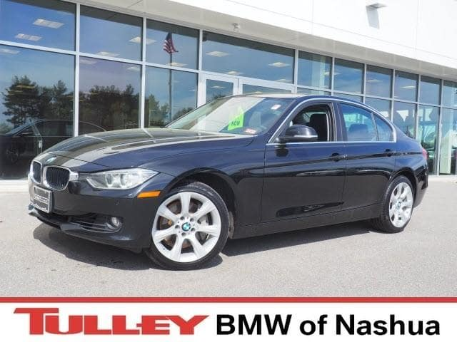 Photo 2015 Certified Used BMW 3 Series Sedan xDrive Black Sapphire For Sale Manchester NH  Nashua  StockB18611C