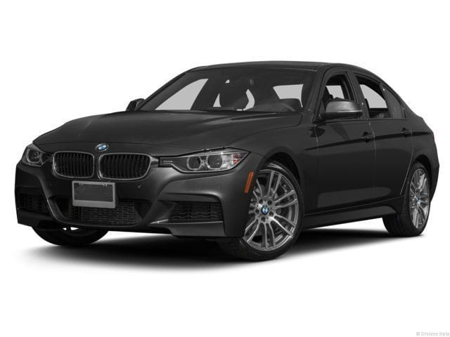 Photo 2015 Certified Used BMW 3 Series Sedan xDrive wSouth Africa Jet Black For Sale Manchester NH  Nashua  StockB18939A