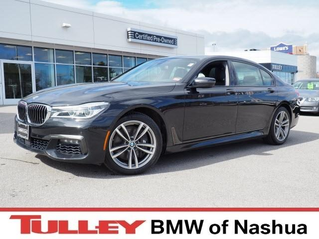 Photo 2016 Certified Used BMW 7 Series Sedan xDrive Black Sapphire For Sale Manchester NH  Nashua  StockB18737A