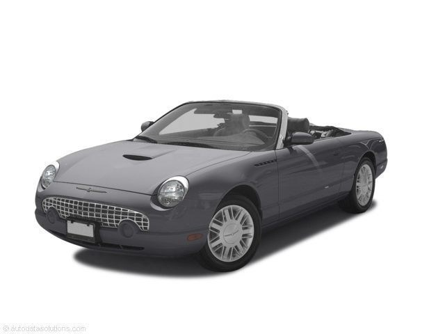 Photo Used 2003 Ford Thunderbird Convertible For Sale Toledo, OH