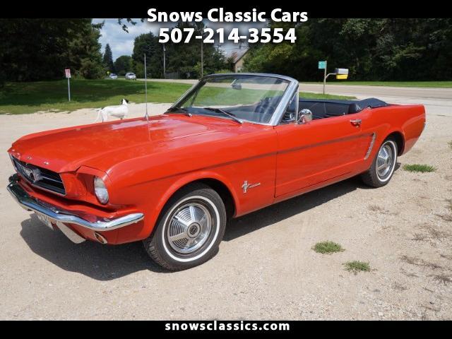 Photo 1965 Ford Mustang 2dr Conv V6