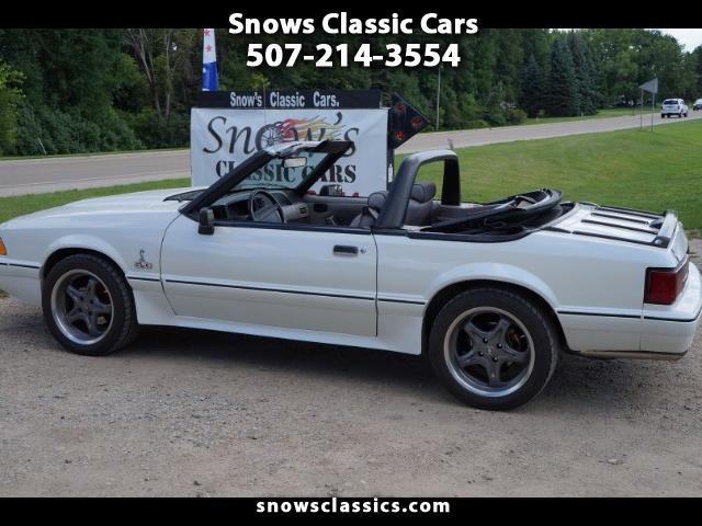 Photo 1990 Ford Mustang Cobra Convertible