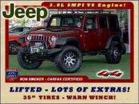 2010 Jeep Wrangler Unlimited Sport 4x4 - LIFTED - LOT$ OF EXTRA$!
