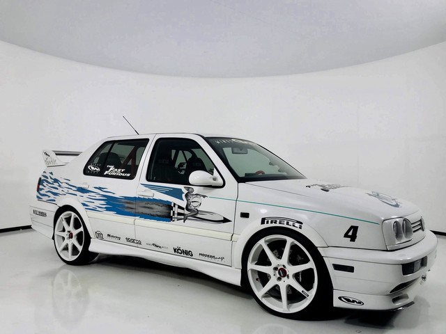 Photo 1995 Volkswagen Jetta III GL The Car from Fast and The Furious  Autographed by the Actors All Wheel Drive Sedan 4 Dr.