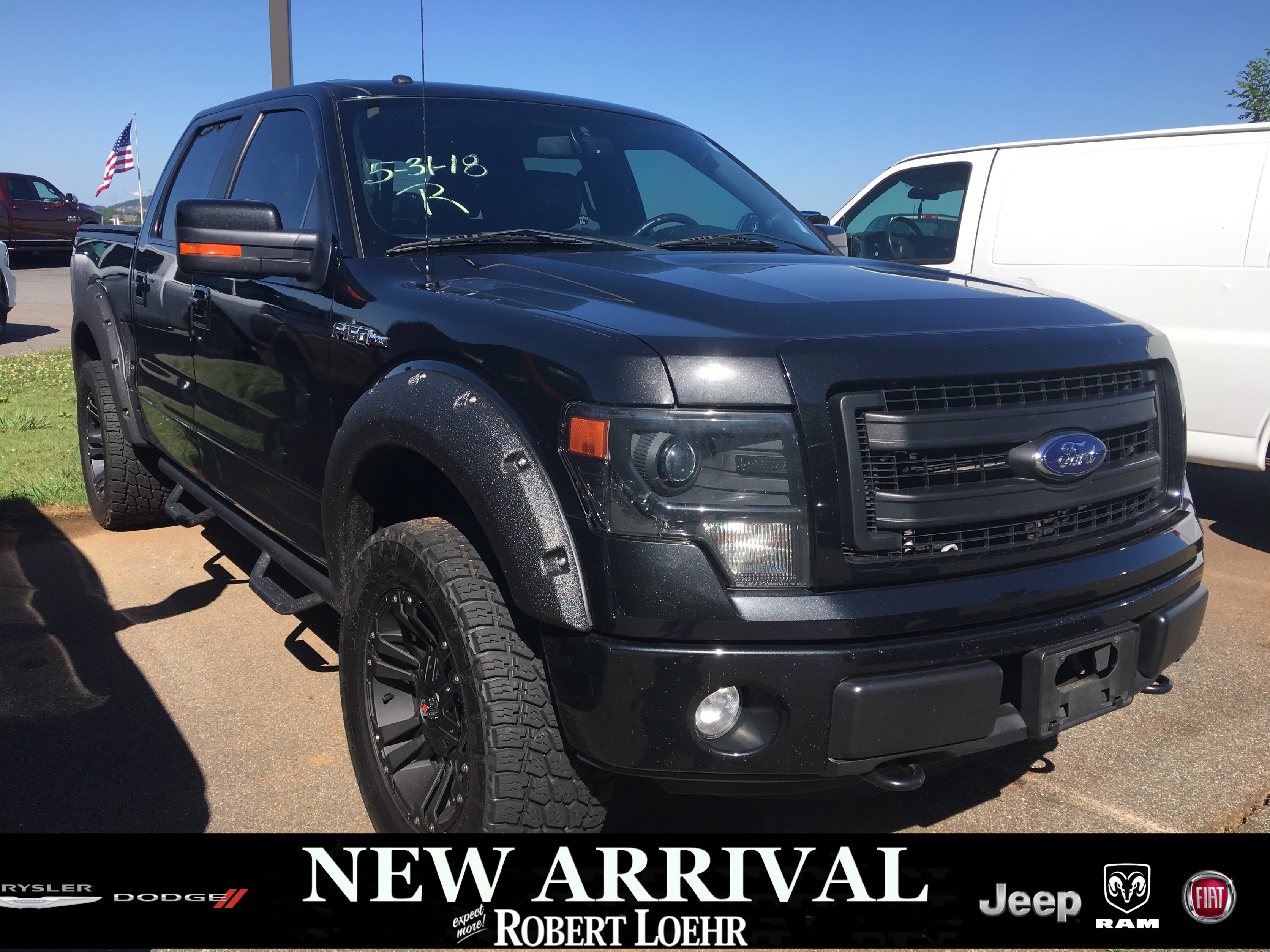 Photo Used 2014 Ford F-150 King Ranch Crew Cab Short Bed Truck in Cartersville GA