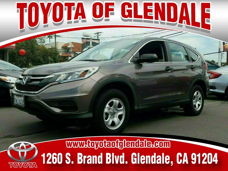 Photo Used 2015 Honda CR-V, Glendale, CA, , Toyota of Glendale Serving Los Angeles  3CZRM3H36FG709817