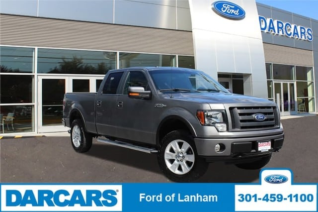 Photo Used 2010 Ford F-150 FX4, 4X4, NAVIGATION, LEATHER, SR Pickup Truck 3v EFI V8 FFV Engine