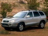 Pre-Owned 2002 Hyundai Santa Fe 2.7L V6 FWD 4D Sport Utility