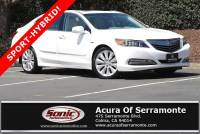 Certified 2017 Acura RLX Sport Hybrid V6 SH-AWD with Advance Package For Sale in Colma CA | Stock: PHC000144