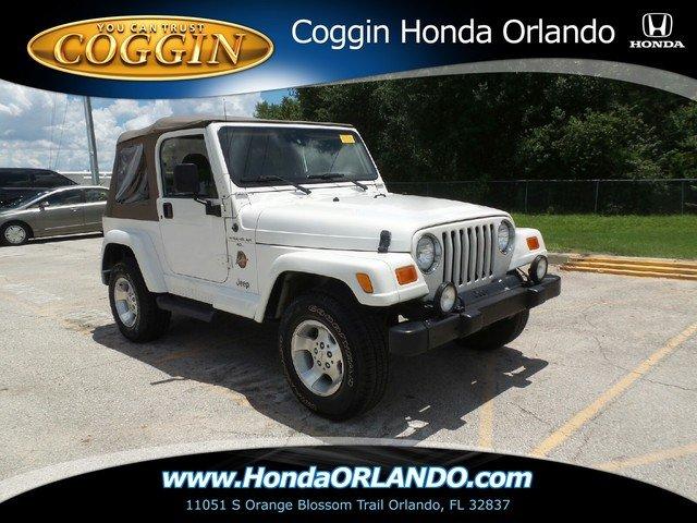 Photo Pre-Owned 2001 Jeep Wrangler Sahara SUV in Orlando FL